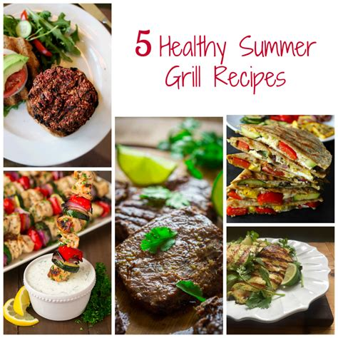 healthy grill recipe round up bite of health nutrition