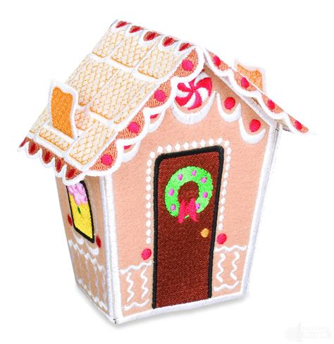 gingerbread house designs gingerbread house 1 embroidery design