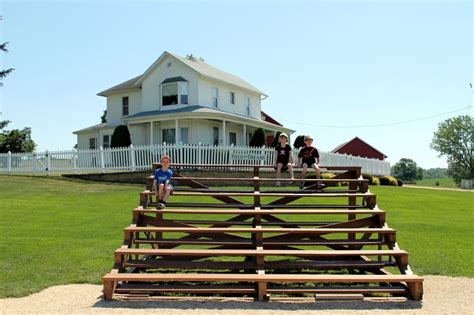 North Dakota House roadside attraction field of dreams movie site in