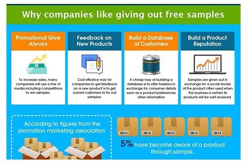 which companies give freebies