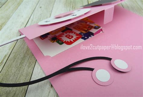 Ipod Gift Cards - i love 2 cut paper ipod gift card holder