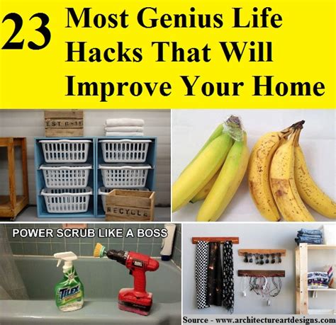 life hacks for home 23 most genius life hacks that will improve your home