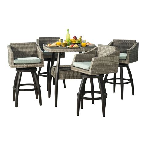 Martha Stewart Living Solana Bay 7 Piece Patio High Dining Solana Bay 7 Patio Dining Set