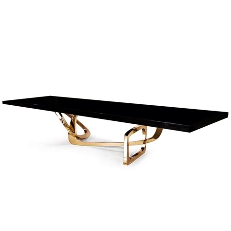 dining sophistication bangle dining table by hudson furniture