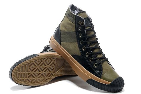 army converse sneakers converse army green wahlberg shooter all high