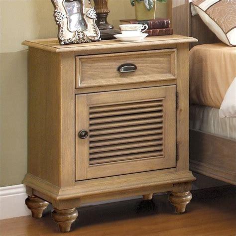 shutter bedroom furniture riverside furniture coventry shutter door nightstand in