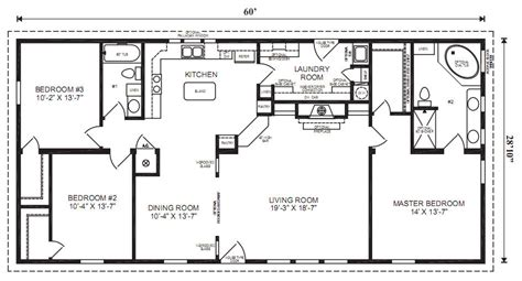 manufactured home floor plans the margate specifications 3 bedrooms 2 baths square