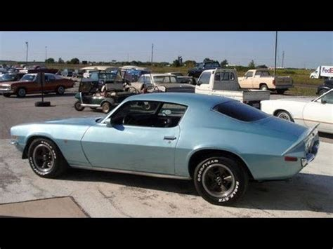 1970 chevrolet camaro z28 four speed muscle car youtube