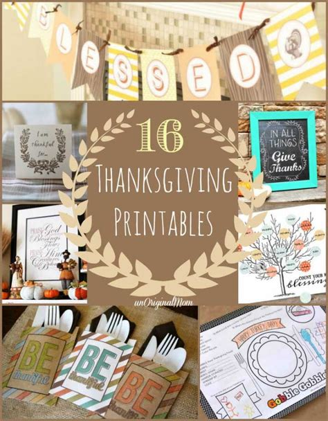 printable thanksgiving turkey decorations 16 thanksgiving printables last minute free printables