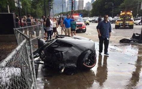crashed lamborghini huracan lamborghini huracan torn in half in fiery crash