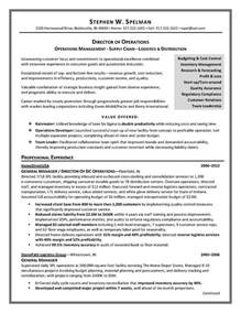 Resume Titles Sles by Divisional Vp Operations Resume