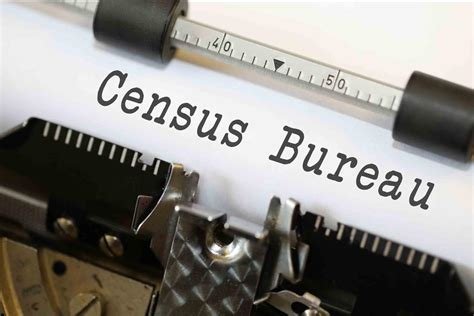 census bureau census bureau typewriter image