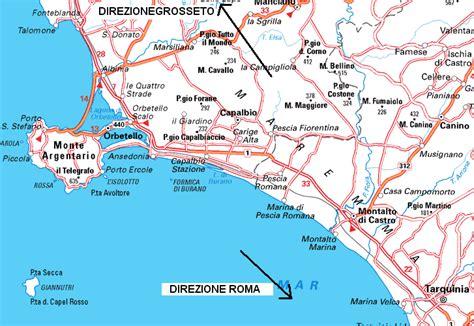 porto s stefano mappa www ansedoniaonline it come arrivare i mezzi per