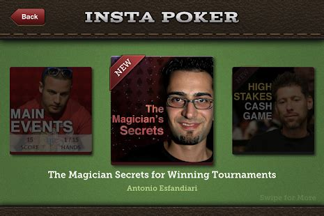 insta poker coach texas holdem for pc and mac