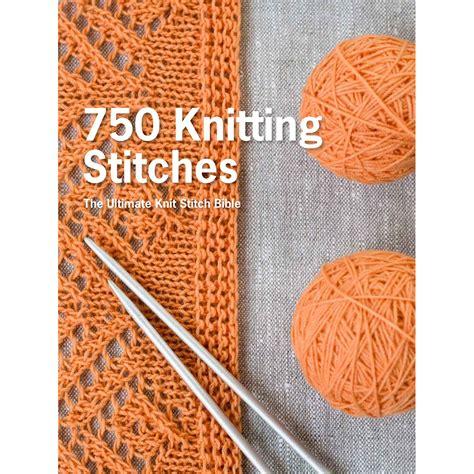 knitting stitch books st martin s books 750 knitting stitches