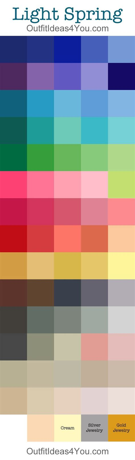 spring color 66 best color analysis clear bright spring pure images