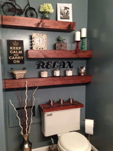 Bathroom Shelves Beautiful And Easy Diy Bathroom Diy Bathroom Shelves