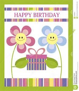 happy birthday card royalty free stock photography image