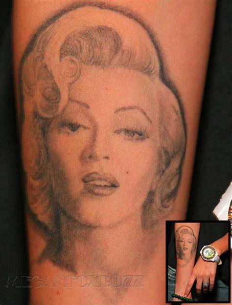 megan fox intima tatueringar en bitter blondins blogg