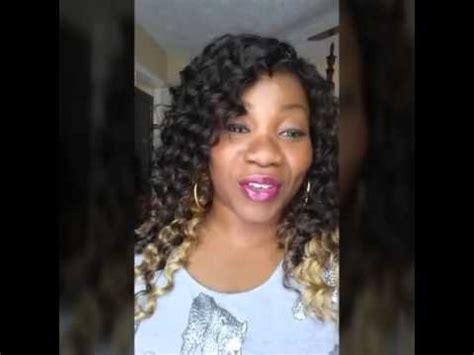 hairstyles with ocean wave batik hair crochet braids with outre batik deep wave 18 quot youtube