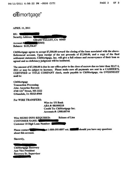 Citibank Loan Approval Letter asc sale specialist grass valley ca sale
