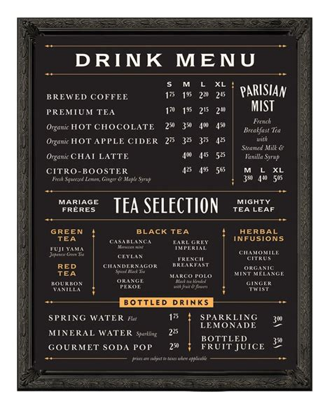 coffee shop menu board design pinterest the world s catalog of ideas