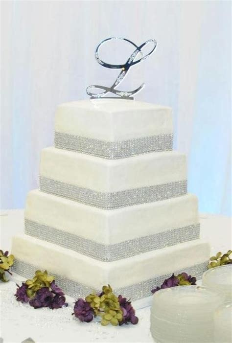 Hochzeitstorte 4 Eckig by Wedding Cake Ideas 4 Tier Square Wedding Cake With