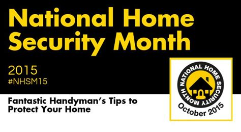 infographic national home security month 2015