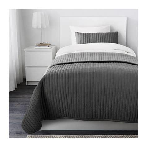 copriletto ikea karit copriletto e fodera per cuscino 180x280 40x65 cm