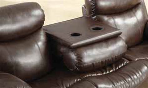 brown leather reclining sectional steal a sofa furniture coaster denisa 600561 brown leather reclining sofa steal