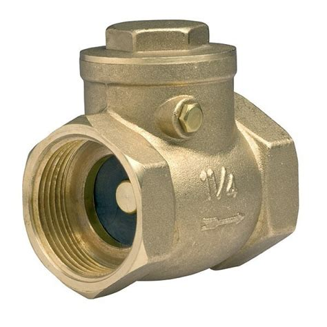 brass swing check valve 2 quot swing clack non return check valve brass one way valves