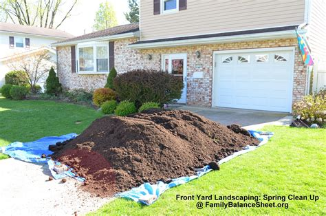 backyard clean up front yard landscaping spring clean up family balance