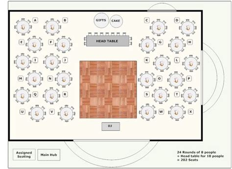 banquet hall floor plan banquet plan space layout use this software to lay out