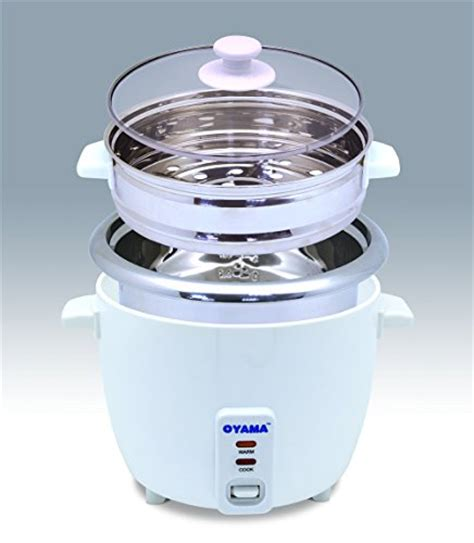 Rice Cooker Oyama oyama stainless 16 cup cooked 8 cup uncooked rice