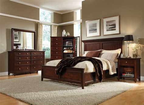 Bedroom Furniture by Ellsworth 4 King Bedroom Set Cherry