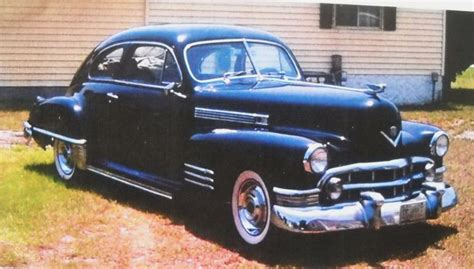 1947 Cadillac Coupe For Sale Pin By Classiccar On Cadillac Cars For Sale