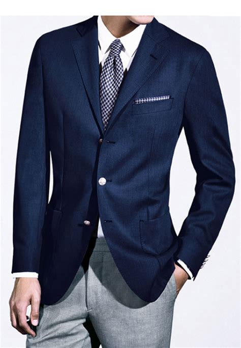 Jas L Uomo giacca uomo cotone modello sport sfoderato slim cotton