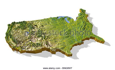 3d map of the united states united states map stock photos united states map stock