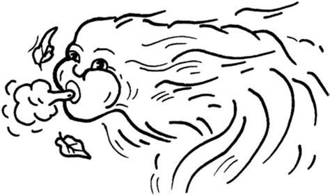 ausmalbild: mythologischer wind | ausmalbilder kostenlos