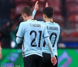 Connected Careers Play On Same Team Belgium Hazard And Thorgan Play