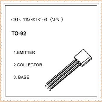 transistor c945 npn c945 npn plastic encapsulate transistor to 92 package view c945 transistor drec product