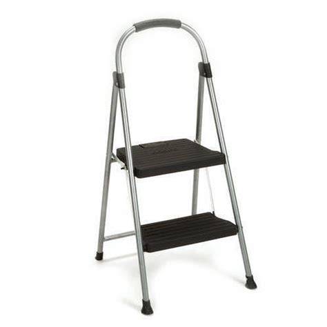 Rubbermaid Large Step Stool Gray by Rubbermaid 2 Tier Step Stool Walmart