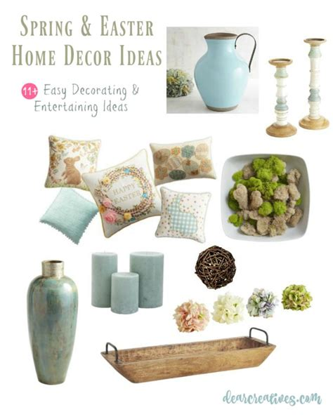easter home decor home decor how to make your home festive for