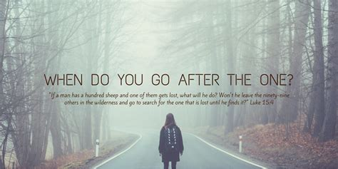 The Search For The Wilder When Do You Go After The One