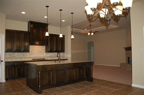 Beautiful dark custom cabinets color black walnut (Sherwin