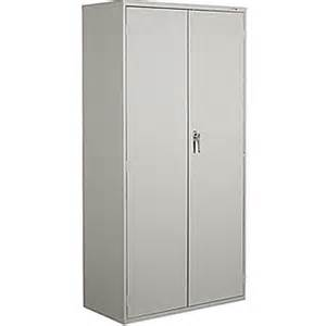 staples 174 72 quot locking steel storage cabinet grey staples 174