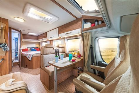 mini cer con bagno 4 berth motorhome with toilet and shower
