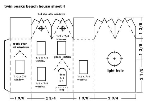 Free Downloadable House Plans by Building The Twin Peaks Beach House Howard S How To S