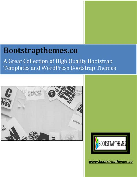 bootstrap templates for presentation a great collection of high quality bootstrap templates and