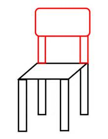 drawing of a chair drawing a chair